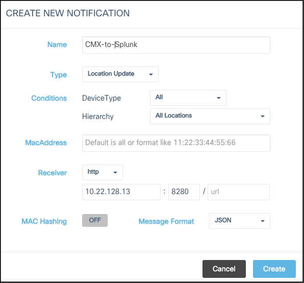 cmx-to-splunk-notifications