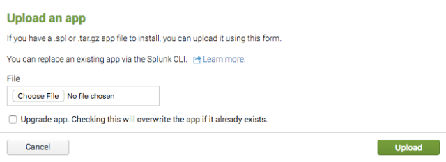 splunk-upload-app