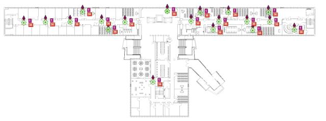 Building 11 Hallway design