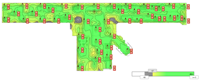 Building 11 RTLS Predictive heatmap